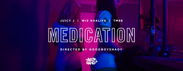 GOD Mafia (Juicy J, Wiz Khalifa & TM88) - Medication (Official Music Video)