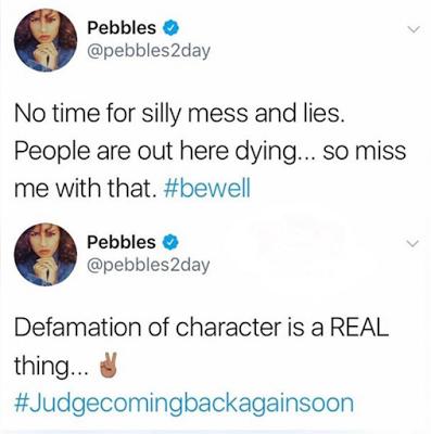 Pebbles Reid Fires Back at T-Boz