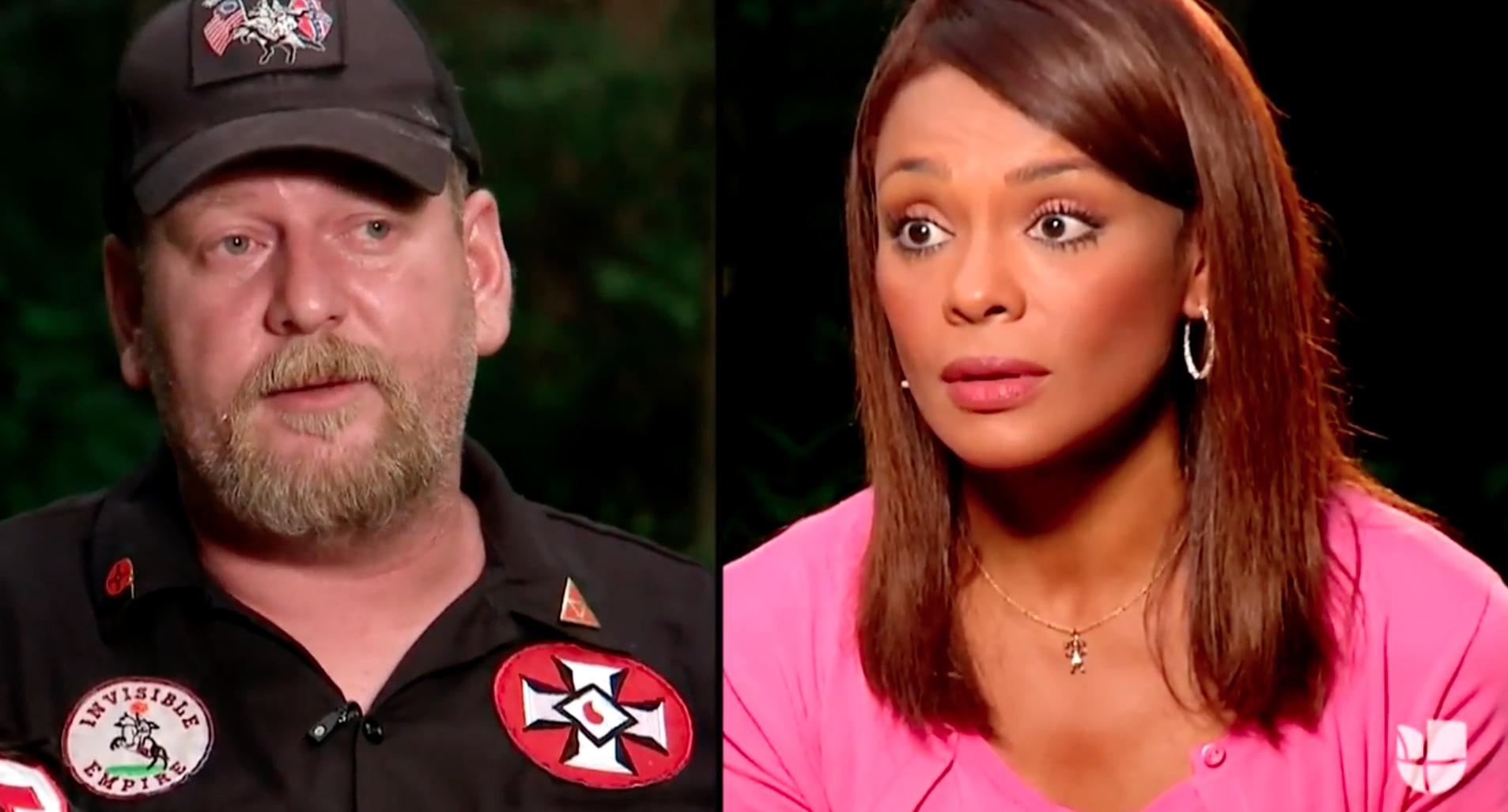 KKK Leader Calls Univision Reporter N-Word, Threatens to Burn Her