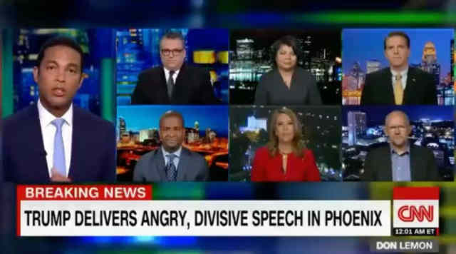 Don Lemon Calls Out President Trump For Lying About His Initial Response To The Charlottesville Riots!